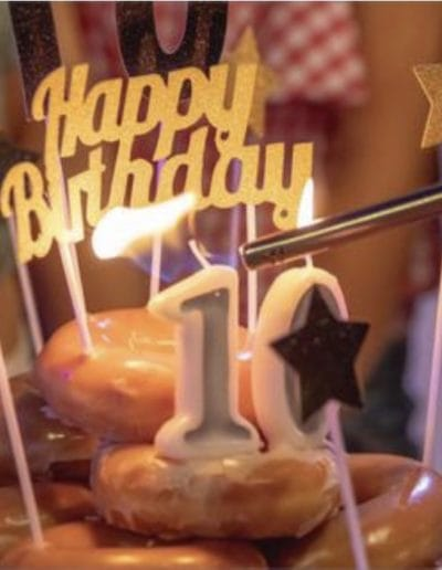glitz girls clam 10th birthday pamper party adelaide